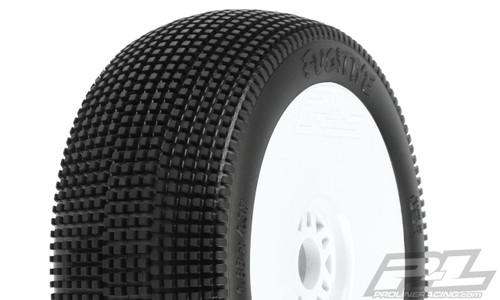 Proline Racing 9052233 Fugitive S3 (Soft) Off-Road Buggy Tires, Mounted on V2