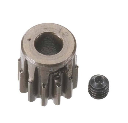 Robinson Racing 8712 HARD 5MM BORE(.8) PINION 12T