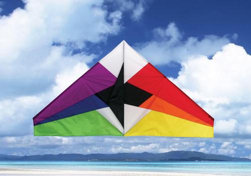 """Skydog Kites 11151 55"""" Rainbow Delta"""