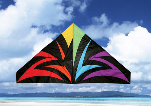 """Skydog Kites 11155 55"""" Black Lightning Delta"""