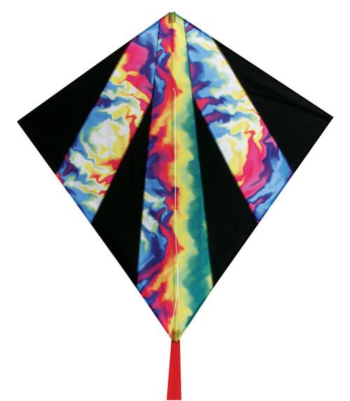 "Skydog Kites 12221 32"" Tie-Dye Diamond"