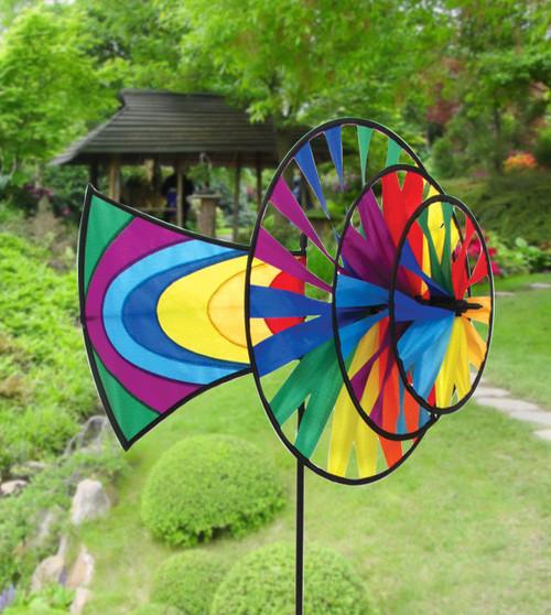 Skydog Kites 40601 Rainbow 3-wheel