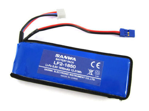 Sanwa 107A10951A Sanwa LF2-1850 LiFe 2S Battery 1850 mAh