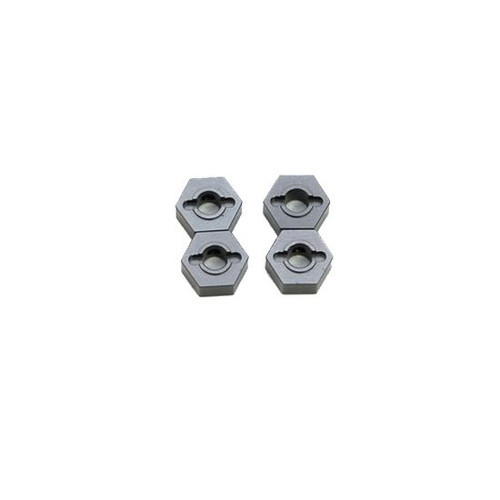 ST Racing Concepts ST1654GM ALUMINUM HEX ADAPTERS FOR SLASH 4X4 (GUNMETAL)