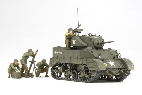 Tamiya 35313 1/35 US Light Tank M5A1