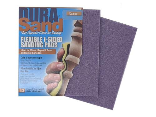 Durasand 24001 Purple High Flex Sanding Pads, 2pcs, Coarse - 100 Grit