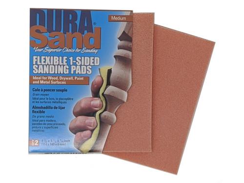Durasand 24002 Orange High Flex Sanding Pads, 2pcs, Medium - 180 Grit
