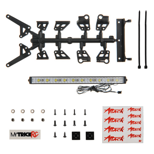 "MyTrickRC FT3 6"" High Power Light Bar Kit - 1-6"" High Power Light Bar with"