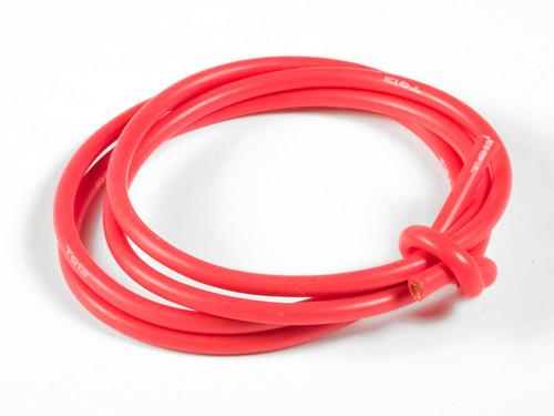 TQ Wire 1334 13 Gauge Super Flexible Wire- Red 3'