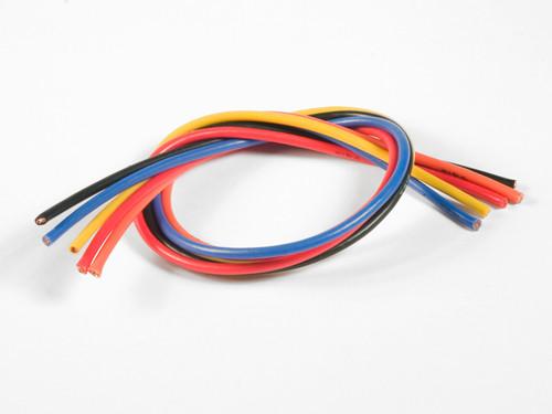 TQ Wire 1605 16 Gauge Super Flexible Wire- 1' ea. Black, Red, Blue,