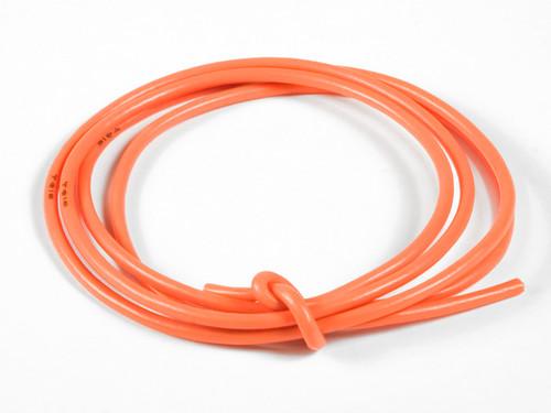TQ Wire 1630 16 Gauge Super Flexible Wire- Orange 3'