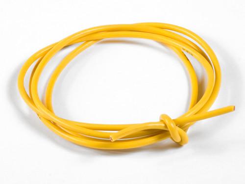TQ Wire 1636 16 Gauge Super Flexible Wire- Yellow 3'