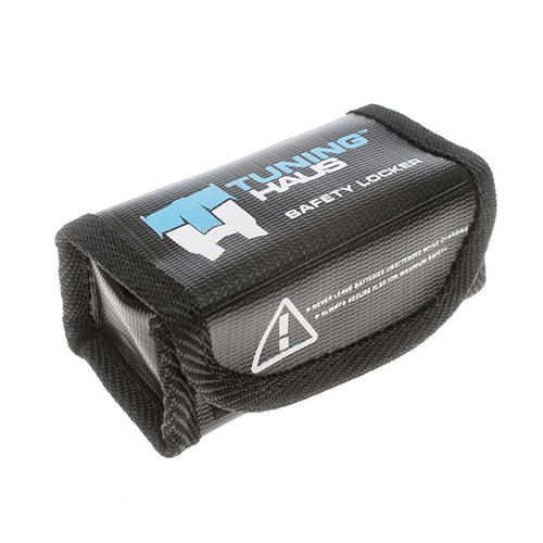 Tuning Haus 1003 1S or 2S Shorty Lipo Safety Storage Bag