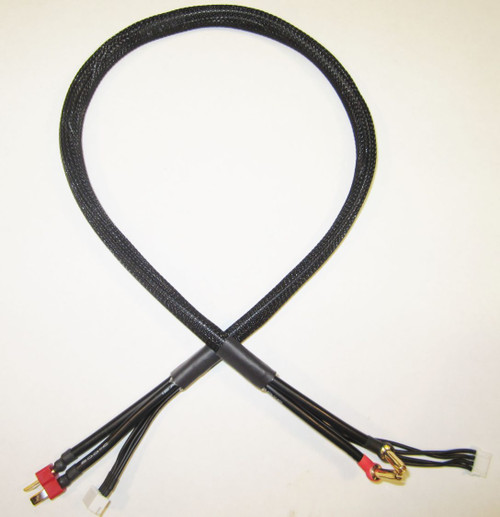 TQ Wire 2631 3S Charge Cable w/ Deans Plug (2')