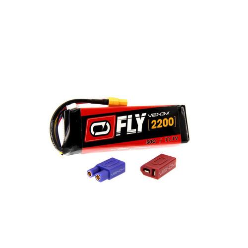 Venom Racing 25033 Fly 50C 3S 2200mAh 11.1V LiPO - Universal 2.0 Plug