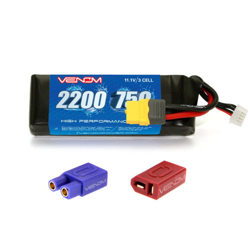 Venom Racing 45002 Venom 75C 3S 2200mAh LiPo Battery with XT60 Plug