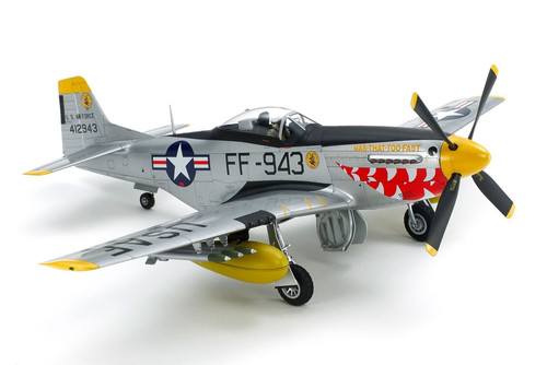 Tamiya 60328 1/32 North American F-51D Mustang Korean War