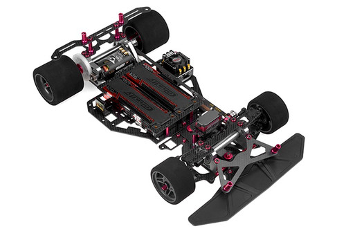 Corally 00132 1/8 SSX-8X On Road Pan Car Chassis Kit (No Body, Tires,