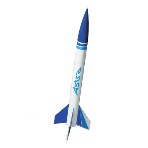 Quest Rockets 1004 Astra I Model Rocket Kit-Skill Level 1