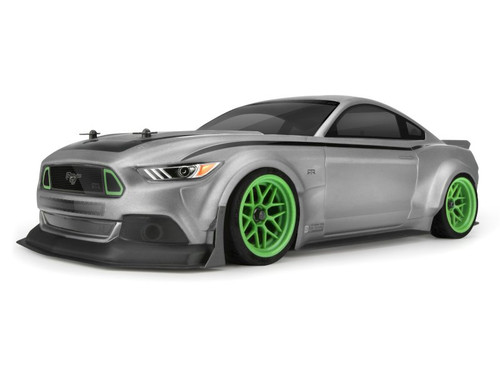 HPI Racing 116534 Ford Mustang 2015 RTR Spec 5 Clear Body (200mm)