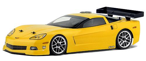 HPI Racing 17503 Chevrolet Corvette C6 Body 200mm WB255mm