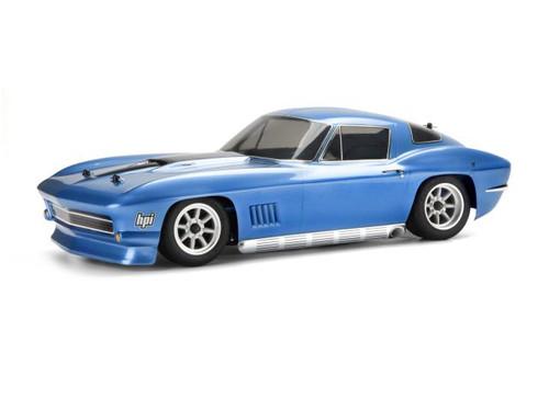 HPI Racing 17526 1967 Chevrolet Corvette Body (200mm)