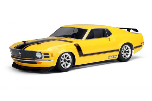 HPI Racing 17546 1970 Ford Mustang Boss 302 Body (200mm)