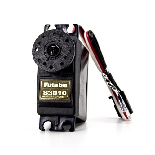 Futaba 01102252-3 S3010 Standard Hi-Torque Nylon Gear Servo .16sec/90.3 @ 6V