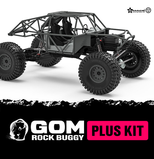 Gmade 56020 1/10 GR01 GOM Rock Buggy Plus Kit