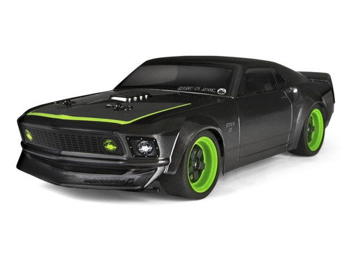 HPI Racing 113081 1969 Ford Mustang RTR-X Painted Body (140mm) Micro RS4