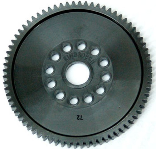 Kimbrough 387 87 Tooth 48 Pitch Spur Gear for Traxxas E-Cars & Trucks