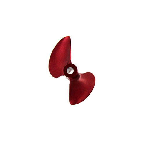 Atomik R/C 18137 CNC Alloy Propeller 32mm P1.4, Red for Barbwire 2/3