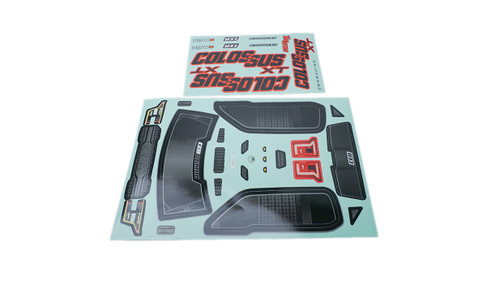 CEN Racing GS171 Colossus XT Decal/Sticker Sheet Colossus XT