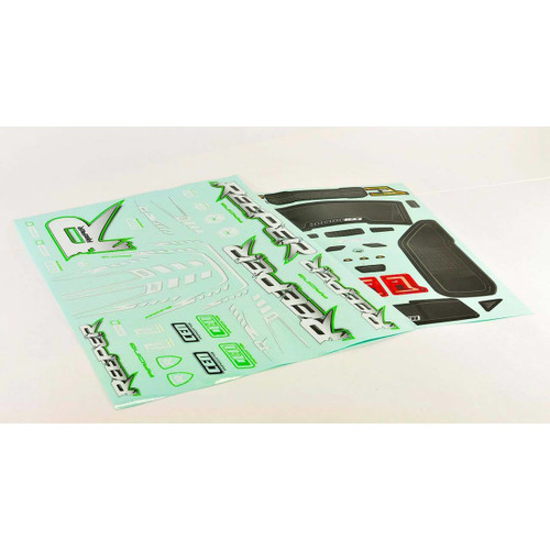 CEN Racing GS183 Decal Sheet for Reeper Body (Green)