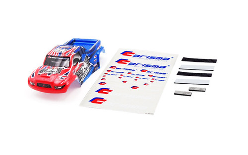 Carisma 15714 GT24MT Truck Body Painted and Decorated ( Red / Blue)