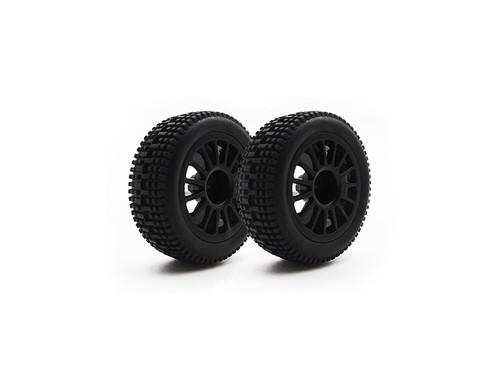 Carisma 15758 GT24 i20 Rear Wheel/Tire Set (pr.)