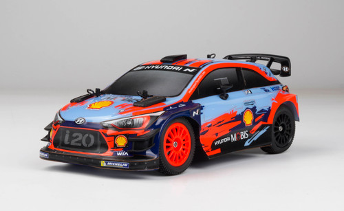 Carisma 80168 GT24 1/24 Scale Micro 4WD Brushless RTR, Hyundai i20 WRC