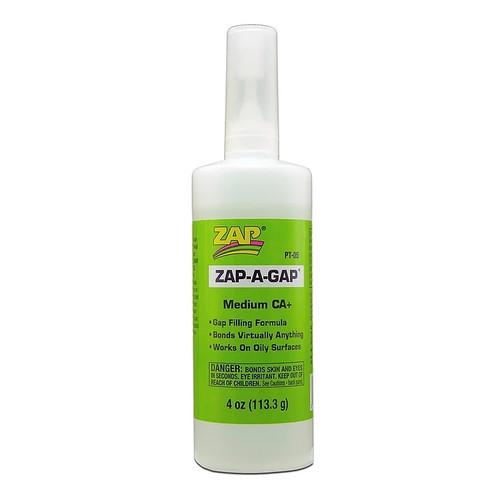 ZAP Glue PT-05 Zap-A-Gap CA+ Glue 4oz