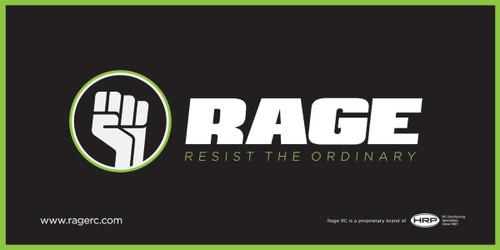"""Rage R/C BANNER Rage Banner 24""""x48"""""""