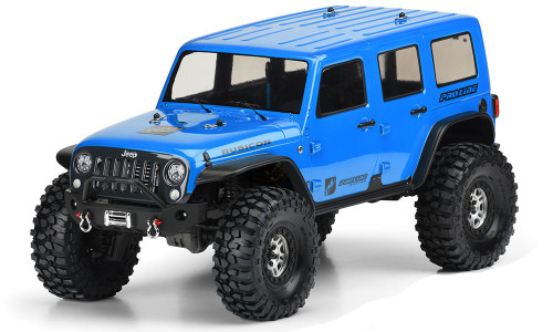 Proline Racing 350200 Jeep Wrangler Unlimited Rubicon Clear Body, for TRX-4