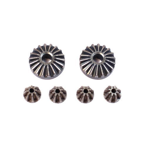 Rage R/C C6031 Differential Bevel Gears (2)/Pinion Gears (4): RZX