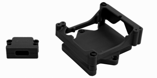 RPM R/C Products 81322 Black ESC Cage for the Castle Sidewinder 4 ESC