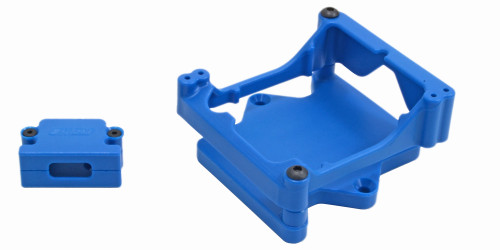 RPM R/C Products 81325 Blue ESC Cage for the Castle Sidewinder 4 ESC