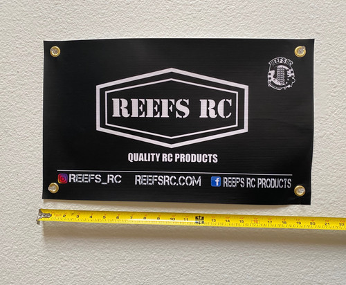 Reef's RC REEFS58 Mini Banner 20x12