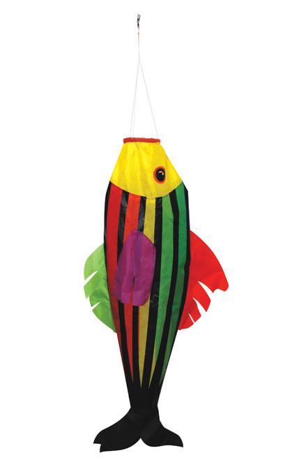 """Skydog Kites 42701 36"""" Rainbow Striper Windsock"""