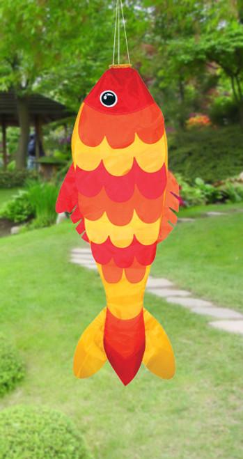 """Skydog Kites 42704 36"""" Goldfish Windsock"""