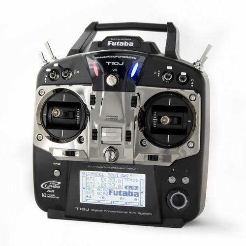 Futaba 01004371-3 T10J A 2.4GHz T-FHSS Airplane Spec Radio System w/R3008SB