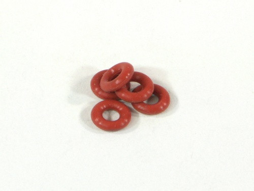 HPI Racing 6819 Silicon O-Ring P-3(Red)(5pcs)