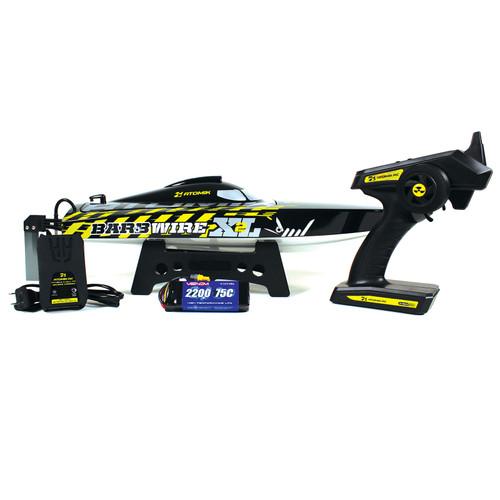 "Atomik R/C 18012 Barbwire XL 2 RTR Brushless 24"" Self Righting, RC Racing"