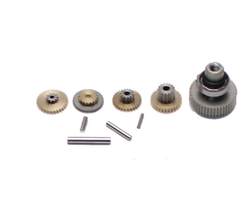 Savox SGSC1252MG SERVO GEAR SET WITH BEARINGS